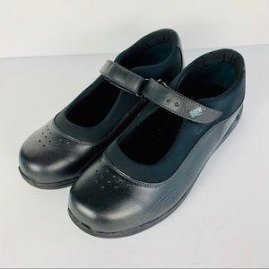 Drew Diabetic Orthopedic Shoes 10.5 WW Black Leath